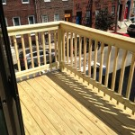 New 2nd Story Deck in Fairmount